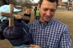 Николай извади кръста в Драгичево, на 40 години, женен с едно дете
