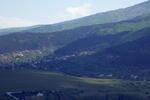 """Гледка към Мърчаево и Мърчаевския манастир """"Света Троица"""""""