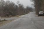 Кръстовището Драгичево, Рударци, Мърчаево - Катастрофирал автомобил